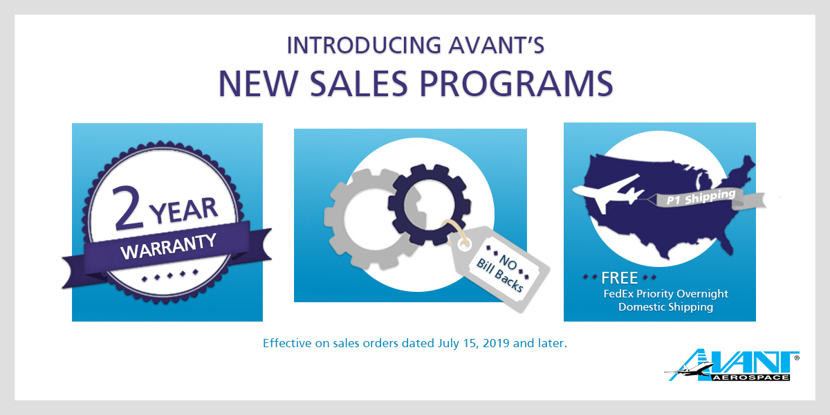 New Sales Programs at Avant